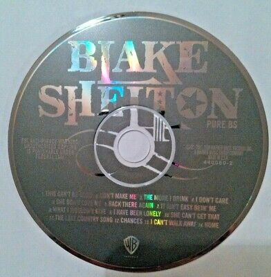 Blake shelton Pure Bs cd disc only NO TRACKING!!!!