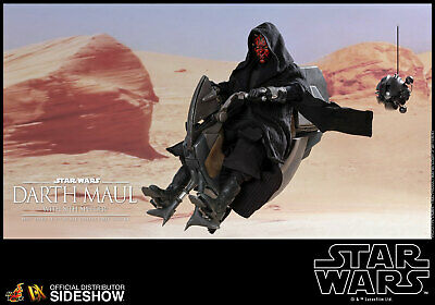 HOT TOYS Star Wars Darth Maul Deluxe with Sith Speeder Sixth Scale Figure NEW!!!