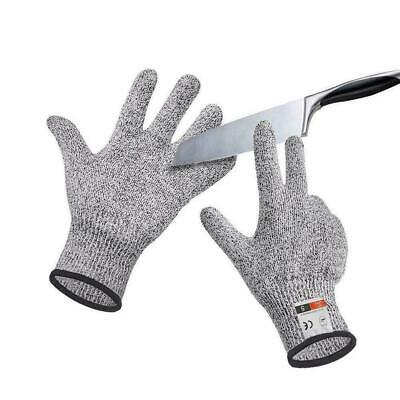 New Cut Proof Stab Resistant Steel Wire Metal Mesh Gloves Butcher Safety X6V5