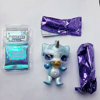 Poopsie Sparkly Critters Rare *Fleece* Authentic MGA *Mostly Sealed*NEW