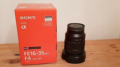 Sony SEL 16-35mm f/4 OSS Lens Mint Condition
