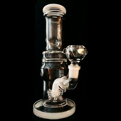 Collectible Tobacco Glass Water Pipe Bong Bubbler Hookah Smoking Bowl HEAVY DUTY