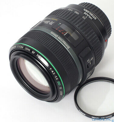 Canon EF 70-300mm f/4.5-5.6 DO IS USM Zoom Lens + Case + Shade 6D II 5D III IV