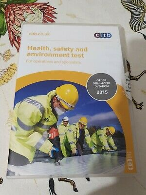DVD-ROM - CITB - Health, Safety and Environment test
