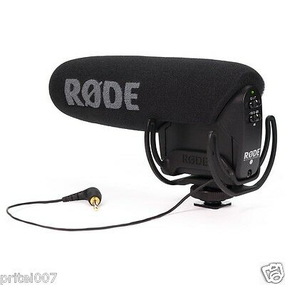 """""""Rode"""" Dual Mono Video Mic Pro On Camera DSLR Broadcast Microphone 10y warrty"""