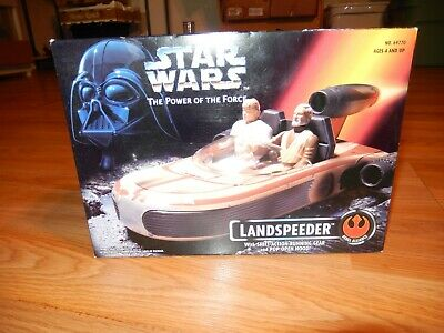 1995 Star Wars Power of The Force Landspeeder New Kenner Tonka FREE S/H