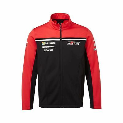 2019 Toyota Gazoo Racing WRT Men's Team Softshell Black - L