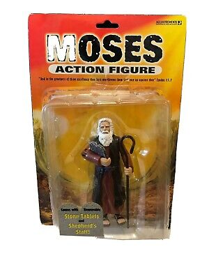 Moses /& Commandments Beginner/'s Bible Action Figure Toy Children Gifts