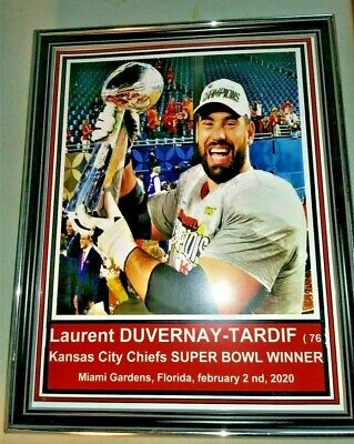 2020 Laurent Duvernay TARDIF CHIEFS SUPER BOWL 2020 GREAT GLOSSY REPRINT PHOTO