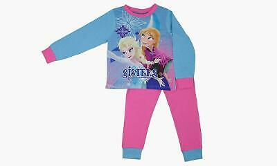Girls Frozen Disney Pyjamas Nightwear Sleepwear PJS Age 18-24 Months
