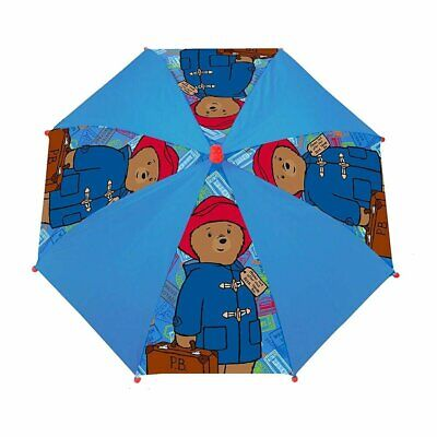 Official Licensed Paddington Bear Childs Stick Umbrella, 56 cm Rain School