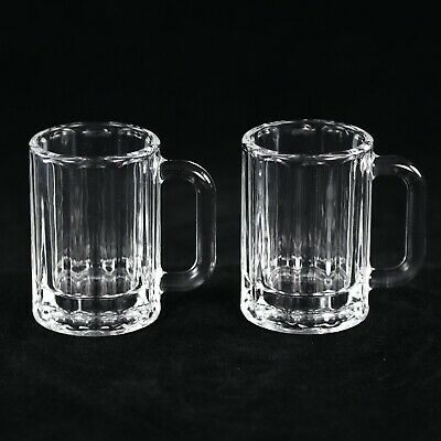 Beer Mug Shot Glass - Set of 2 - Holds 2 Ounces Each