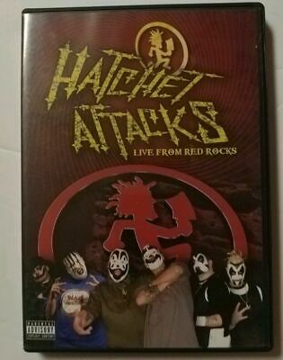 Insane Clown Posse Hatchet Attacks Live From Red Rocks DVD NEW SEALED ICP