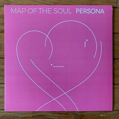 BTS - Map Of The Soul: Persona [1LP] Limited Black Picture Insert Vinyl Record