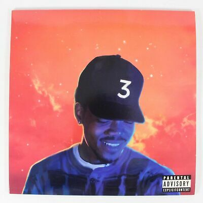 """Chance The Rapper - Coloring Book [2LP] Limited Red Vinyl 12"""" Record 2018 33RPM"""