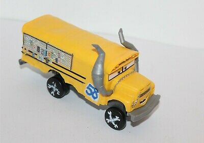 Disney Pixar Cars Miss Fritter Vehicle 2016 Mattel