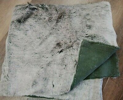 Synthetic Fur - ideal for bear making - Silver Tipped Grey - 162cm x 30cm
