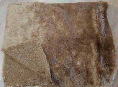 Synthetic Fur - ideal for bear making - Dark Brown - 150cm x 45cm