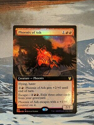 Extended Art Borderless Promo Near Mint MTG Phoenix of Ash 319//254