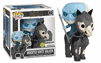 Funko Pop! Mounted White Walker (Rides, Glow in the Dark, Game of Thrones) 60 -