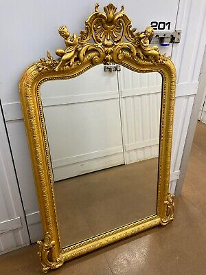 French Gold Gilded Mirror