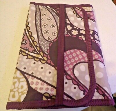 31 Thirty One Fold N Go Organizer Purple Paisley
