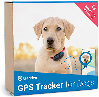 Tractive Edition 2019 GPS Dog and Activity Tracker. Waterproof dog tracking with
