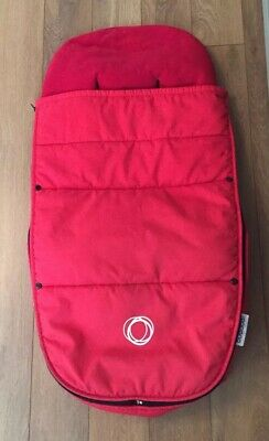 Bugaboo Universal Footmuff Red