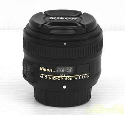 Nikon Single Focus Lens 3323393 Af S Nikkor 50mm  F/1.8G Wide-Angle