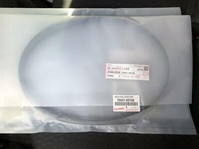 Rh Lh For Toyota Yaris 75551 52130 Genuine Roof Drip Side Moulding Archives Statelegals Staradvertiser Com