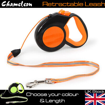 Heavy Duty Large Dog Puppy Extendable Retractable Lead 3m, 5m or 8m