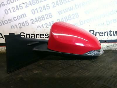 Left Passenger side Wing door mirror glass for Toyota Yaris 2005-2011 stick on