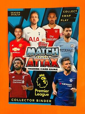 Topps Match Attax 2018/19 Man City/Man Utd/Newcastle/Southampton Bundles/Singles