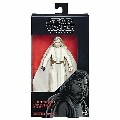 Star Wars The Black Series Episode 8 Luke Skywalker (Jedi Master), 6-inch