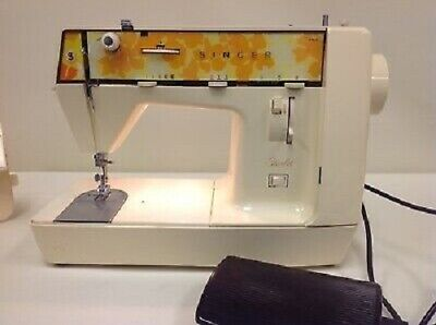 SINGER Sewing Machine Starlet 354 Portable Electric Model 354 Vintage 1970s