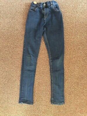 Boys Next Skinny Jeans Adjustable Waist Age 14yrs