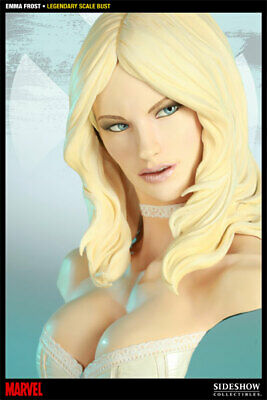 Sideshow Emma Frost Legendary Scale Bust Exclusive Rare Artist Proof In Shipper