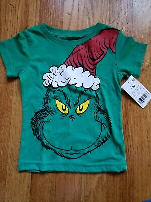 New Dr Seuss Girls Cindy-Lou or Hortons Tops