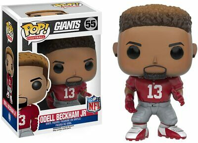 Funko POP! Football: NFL - Odell Beckham Jr. New York Giants #55 Red Jersey NIB