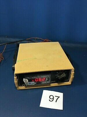 OMEGA MODEL 650 Type J Thermocouple Thermometer