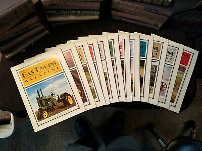 The Gas Engine Magazine 1986 Issues 1-to 12 Complete Year Illustrated Clean