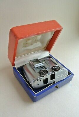 Tessina L subminiature 35mm camera + box , excellent -  rare