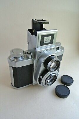 Samocaflex 35 TLR camera with D. Ezumar lenses,  excellent condition ,  rare