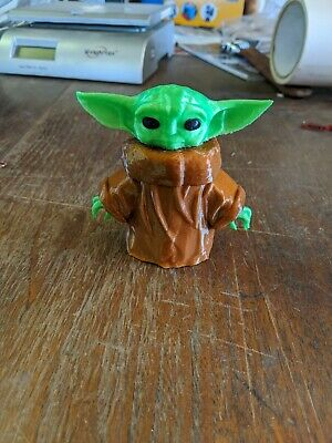 Star Wars The Mandalorian Child Baby Yoda 3D Printed Figure