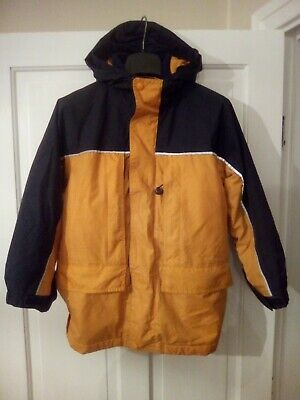 Lands End 3 in1 Coat Ski Jacket and Fleece Child's Size S 7-8yrs