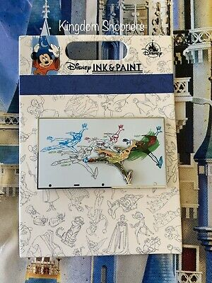 2020 Disney Parks Pin Ink & Paint Collection PETER PAN