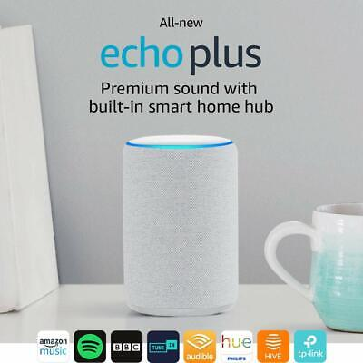 Amazon Echo Plus (2nd Generation) with Built-In Hub - Sandstone + SMART BULB E27