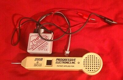 Progessive Elec. 77HP High Power Continuity Tracer w/ 200B Inductive Amplifier