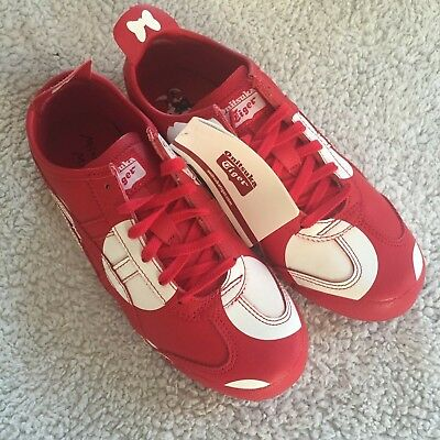 ASICS Onitsuka Tiger Mexico 66 X Disney Minnie Mouse Red Trainers Size UK 6