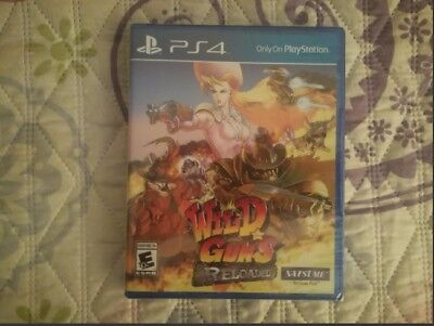 Wild Guns Reloaded precintado nuevo ps4